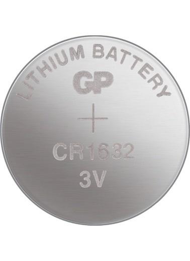GP Gp Cr1632 Lityum 3V Düğme Pil 5'Li Blister 1632 Düğme Pil Renksiz